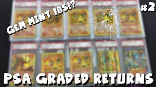 ORIGINAL 1999 BASE SET CHARIZARD RETURNS! Gem Mint 10s!? | PSA GRADED POKEMON CARD RETURNS #2