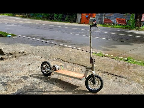 How to make 72v electric scooter