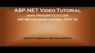 Asp net calendar control   Part 32