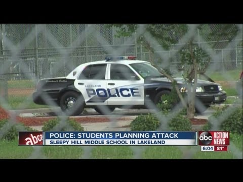 Three Sleepy Hill Middle School students charged with planning murder plot