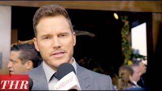 Chris Pratt on the 'Jurassic World: Fallen Kingdom' Premiere Red Carpet | THR