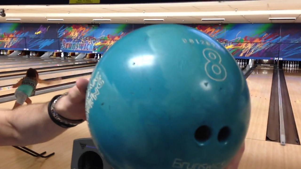 how to get a strike with a 8lb bowling ball youtube