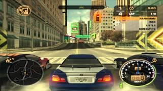 Need For Speed Most Wanted PS2 Gameplay / Walkthrough / Playthrough Part 1