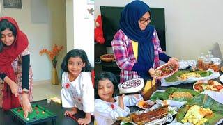 കാട്ടുപോത്തും മാനും മുയലും വേണോ? Ayeshas Kitchen Eid Vlog - 2