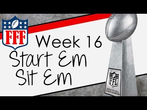 Week 16 Start