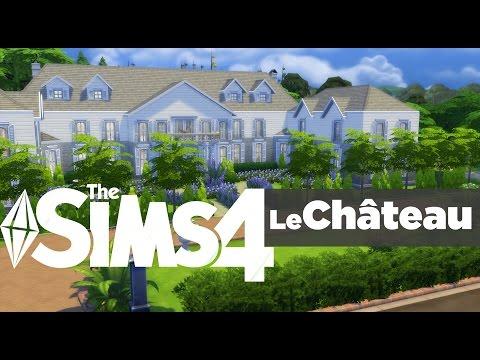 The Sims 4 - House Building - Le Château
