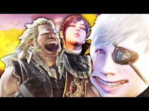 5 TYPES OF MONSTER HUNTER WORLD PLAYERS