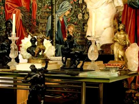 Yves Saint Laurent Home Private Visit  YouTube