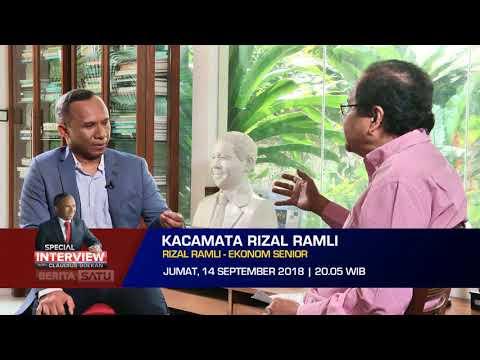 Special Interview with Claudius Boekan: Kacamata Rizal Ramli