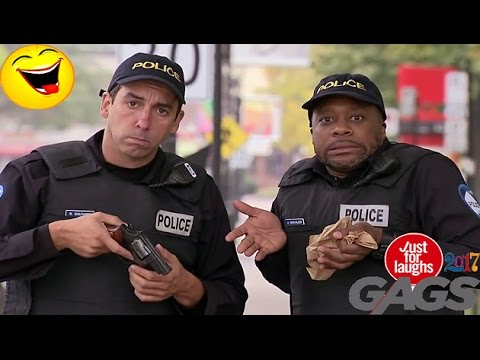 New Top 10 Just For Laughs Gags January 2017 Part 1 – Stupid Cops Pranks