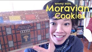Emmy Eats Moravian Cookies - Tasting A Bit Of Old Salem