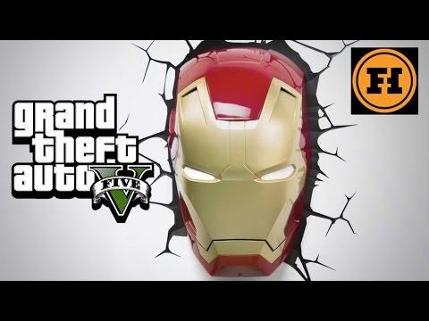 IRON MAN in GTA 5! – Mod Gameplay!