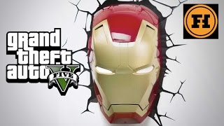 Mod Gameplay - IRON MAN in GTA 5!