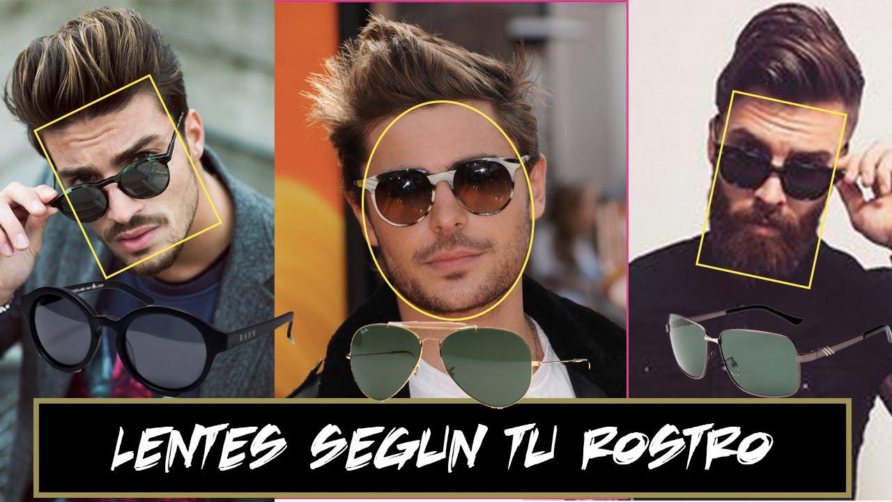 Lentes Segun Tu Tipo De Rostro Hombres Jr Style For Men Youtube