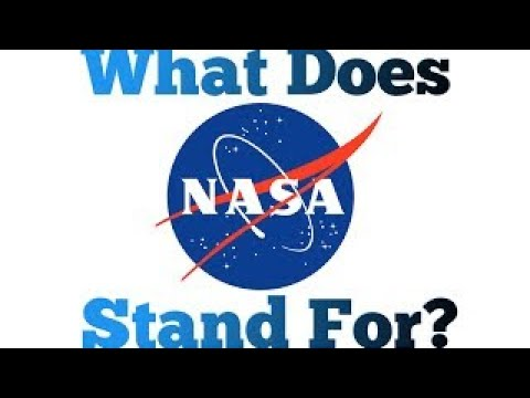 What Does Nasa Stand For Nasa Acronym Challenge Youtube