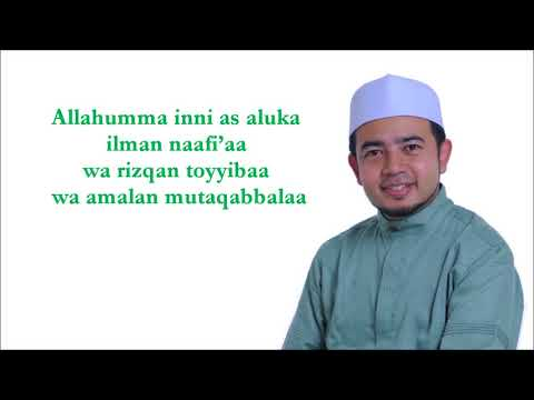 Ustaz Nabil Ahmad   DOA ILMU BERMANFAAT
