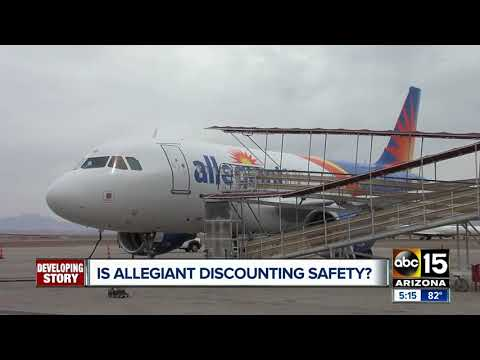 Mesa Gateway Airport reacts to scathing report on Allegiant Airlines