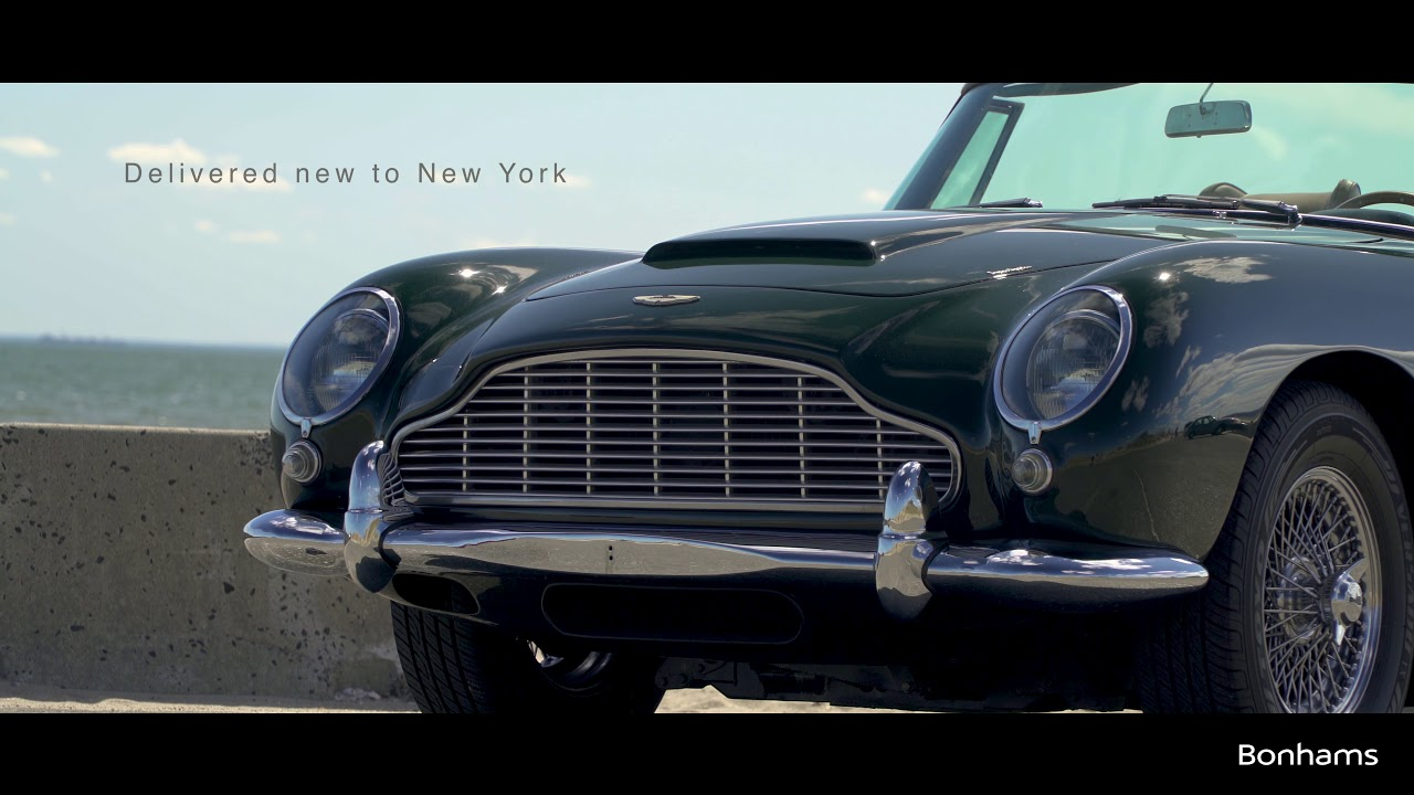 1965 Aston Martin Db5 Convertible At Greenwich Concours D Elegance