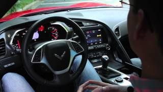 2014 Chevrolet Corvette Stingray - Interior In-Depth - CAR and DRIVER