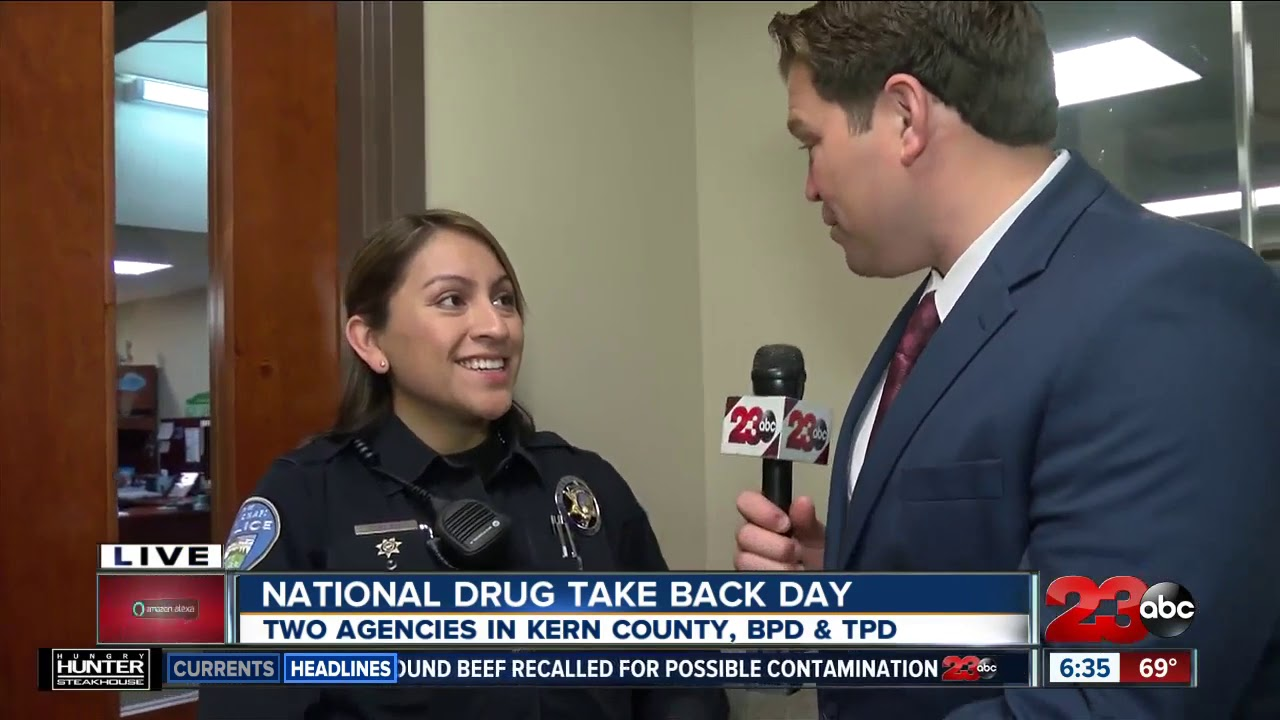 Law enforcement taking back unwanted drugs