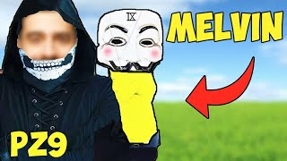 (PZ9 MELVIN FACE REVEAL?!) SPINNING THE WHEEL & DOING WHATEVER IT LANDS ON WITH PZ9!! 😱😱
