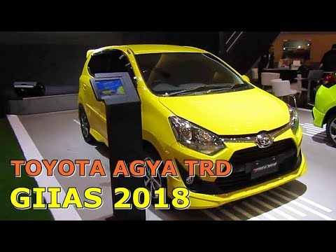 New Agya Trd 2018 Lampu Grand Veloz All Toyota Sportivo Interior Exterior Walkaround At Giias Surabaya