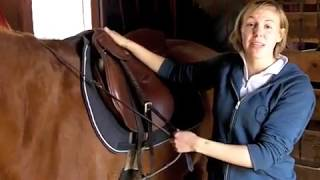 How to adjust stirrups