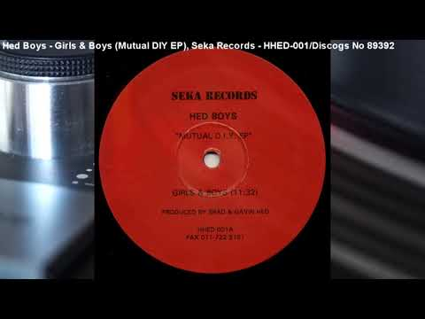 Hed Boys - Girls & Boys (Mutual DIY EP) (1994)