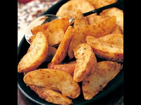 Healthy Cooking: Low Fat Potato Wedge recipe