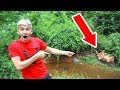 BABY MONSTER IN POND FOUND!!
