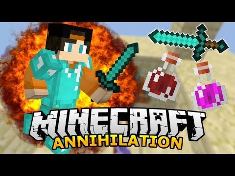 Minecraft Annihilation - Canyon | 0 smrtí za celou hru!