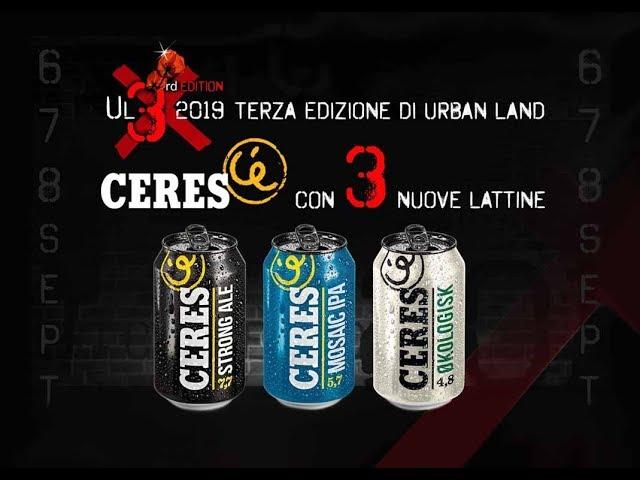 Ceres c'è... Main sponsor Urban Land 2019