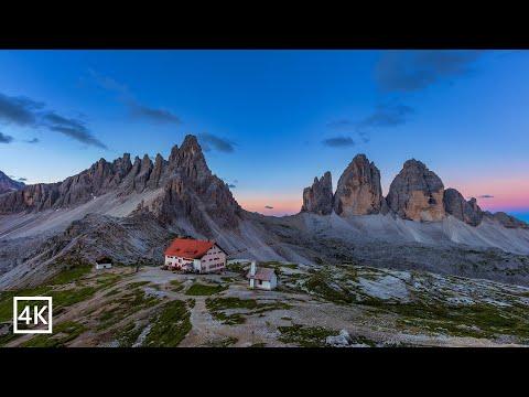 Dolomites Tre Cime di Lavaredo italy 4K 🇮🇹