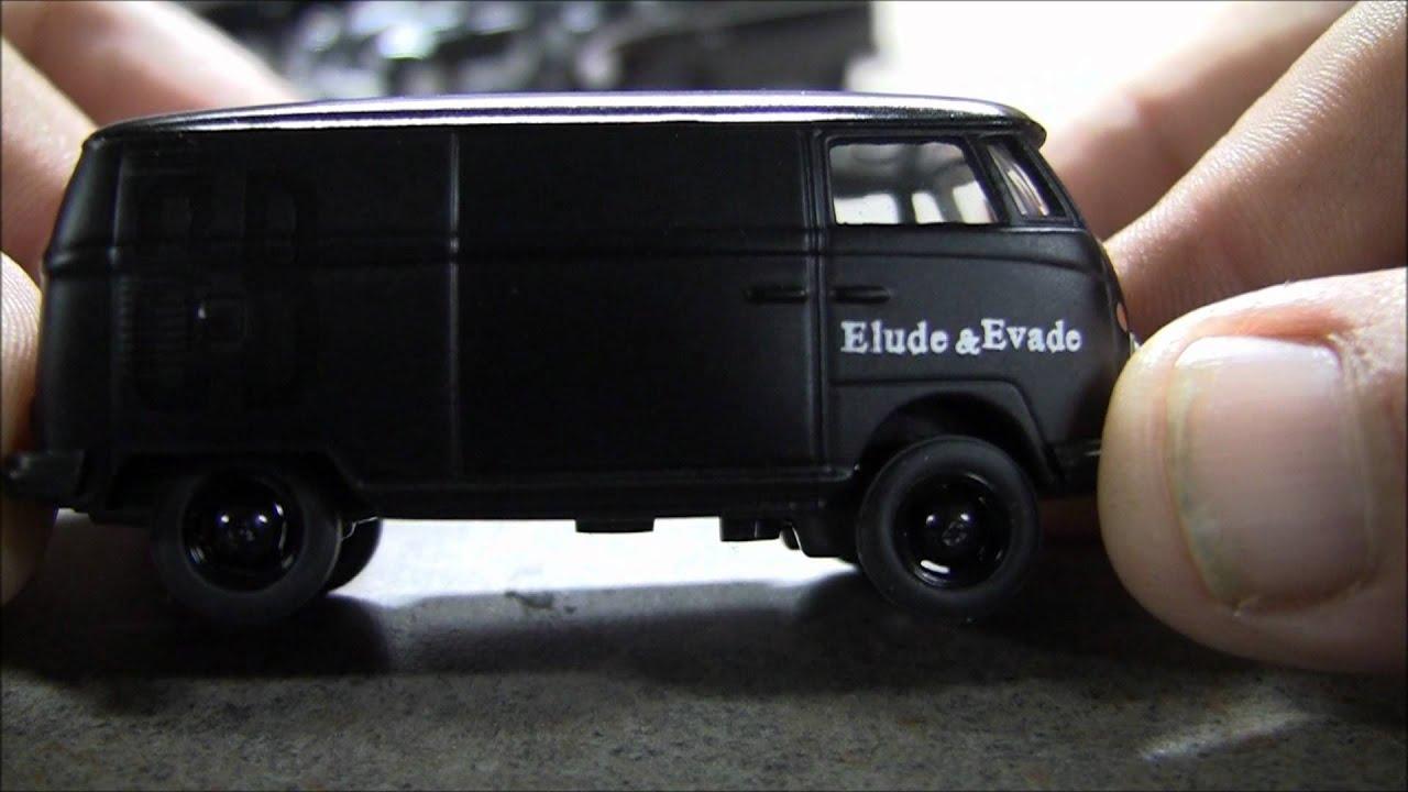 Greenlight Motor World Die Cast Black Bandit Vw 5 Car Set