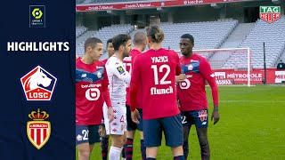 LOSC LILLE - AS MONACO (2 - 1) - Highlights - (LOSC - ASM) / 2020-2021