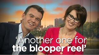 News Breakfast hosts adapt as camera fails
