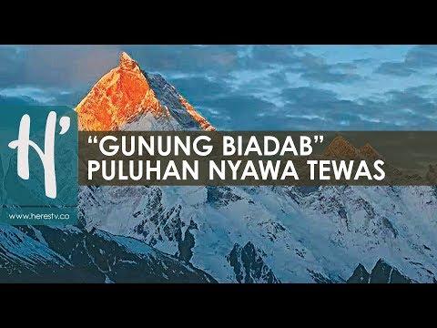 Sangarnya Gunung Tertinggi Kedua Di Dunia