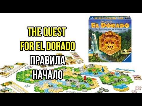 The Quest For El Dorado. В поисках Эльдорадо. Основные правила и начало игры. 4K.