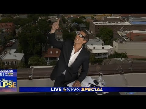DAVID MUIR, The Great American Eclipse, Live Report on 08.21.17