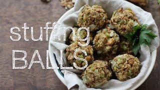 Stuffing Balls |  Inquiring Chef Video