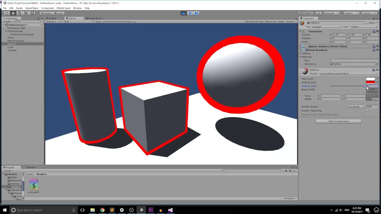 Seamless Outline Shader Tutorial