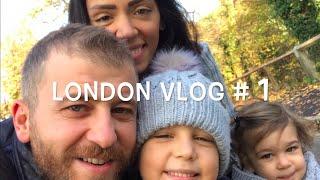 LONDON VLOG#1 / KOCAMAN BIR PARKA GITTIK!