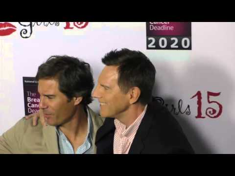 Eric McCormack and Tim Bagley at the 15th Annual Les Girls Cabaret at Avalon Nightclub in Hollywood