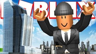 MAKING MY OWN SKYSCRAPER EN ROBLOX
