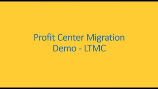 S4HANA Migration Cockpit(LTMC) demo