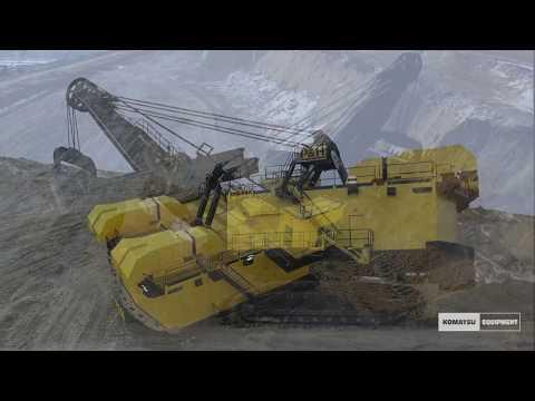 Rebuilt P&H 4100A Electric Rope Shovel - Wyodak Mine - Komatsu Equipment Company