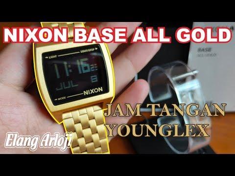 JAM TANGAN NIXON ALL BASE GOLD REVIEW DAN UNBOXING - ELANG ARLOJI