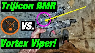 trijicon RMR Vs Vortex Viper // Which Is The Best Red Dot Optic For The Money??