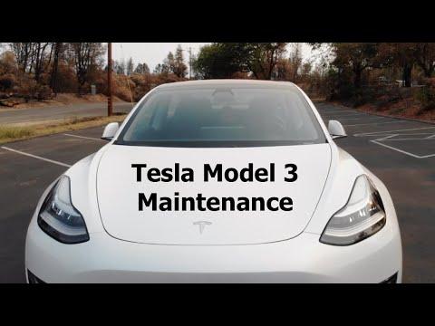 Tesla Model 3 Maintenance