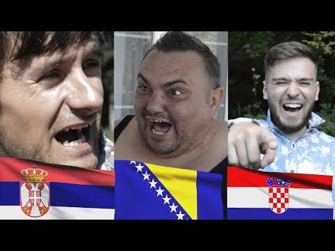 Bosanac, Srbin i Hrvat se svađaju
